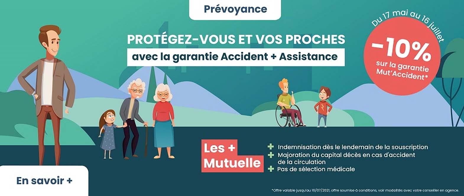Offre prévoyance accident